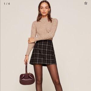 Reformation Autumn Skirt